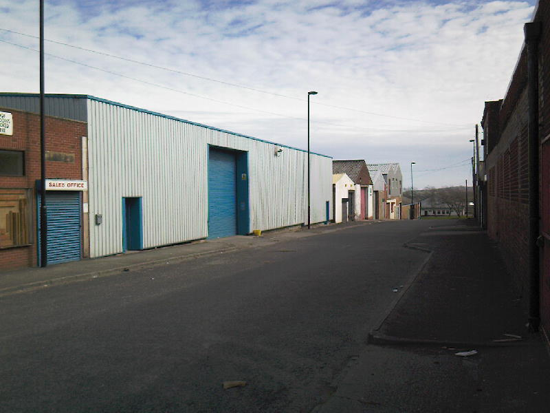 Site of Northumberland Street Church (now warehouse)