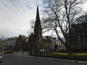Tynemouth Church (now Land of Green Ginger Shopping Mall)