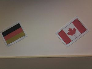 Flags - Germany & Canada