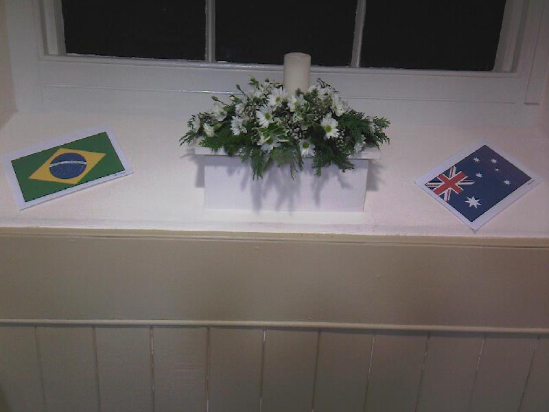 Flags - Brazil & Australia