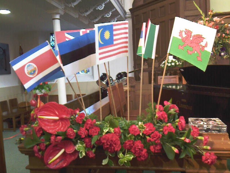 Flags & Flowers