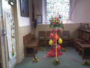 St Columba's Junior Church Display