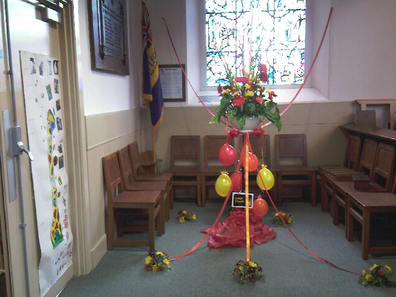 St Columba's Junior Church Display