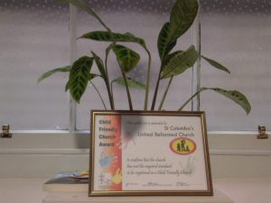 Child-Friendly Church Award