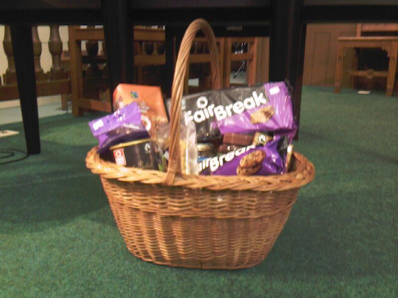 Basket of Fairtrade Goods