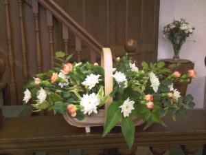 Easter Flower Basket