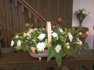 Easter Flower Basket
