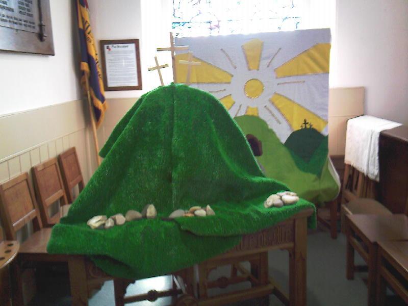 Easter Resurrection Scene