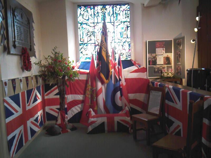 Royal British Legion Display