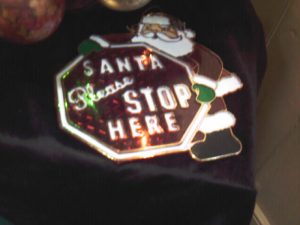 Santa - Please Stop Here