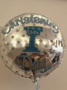 Christening Balloon