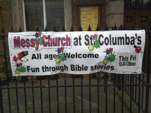 Messy Church Banner