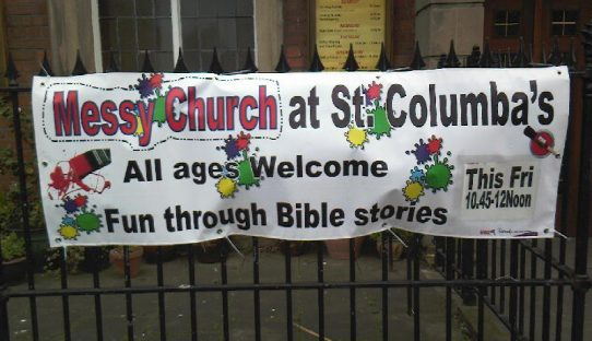 Messy Church Banner - 1.4.12