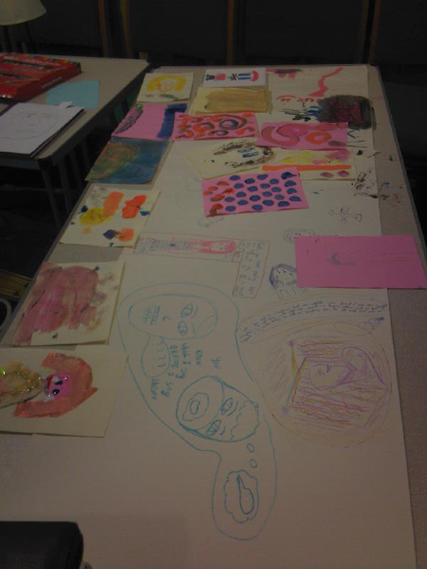 Youth Service drawings