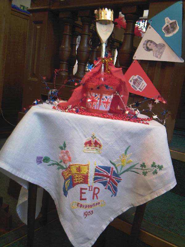 Coronation Tablecloth