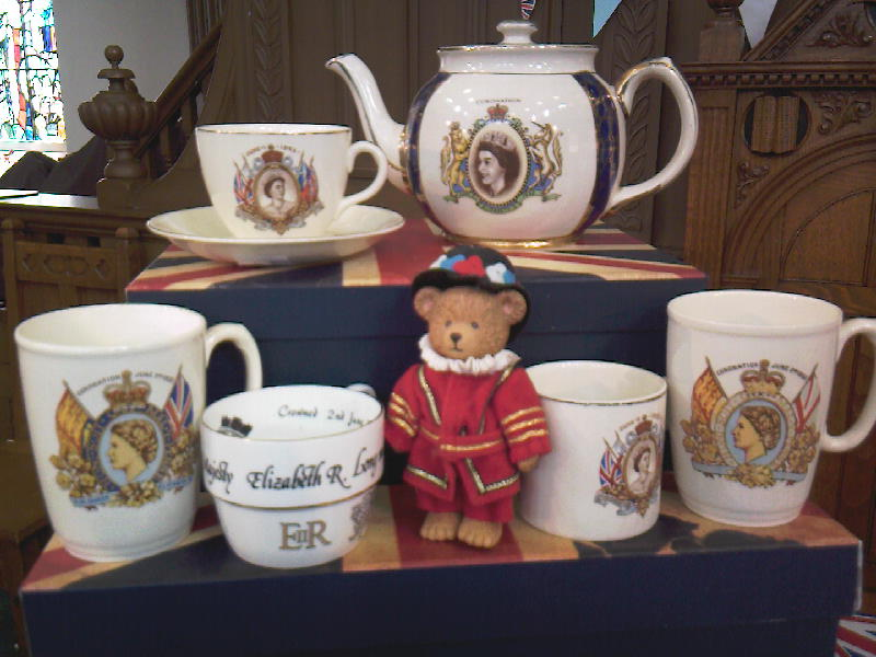 Coronation Tea Set