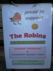 Proud to support the Robins