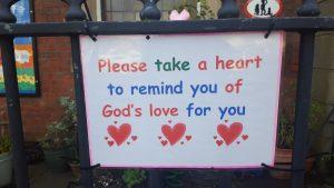 """""""Take a heart"""" poster"""